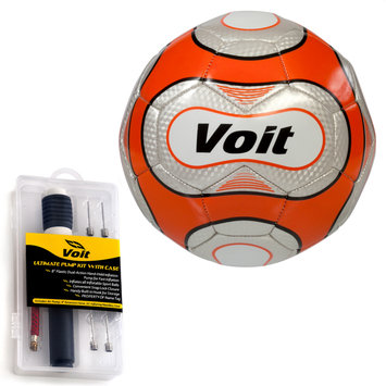 Voit Sz. 5 Reflect Soccer Ball w/ Ultimate Inflating Kit