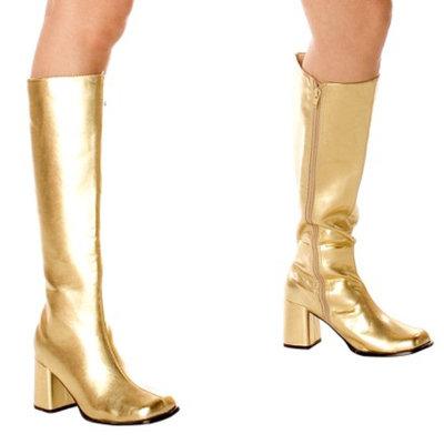 Buy Seasons Gold Gogo Boots Adult - 9.0