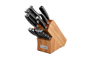 Ragalta Usa Ragalta 13-pc. Forged Set with Rubberwood Block