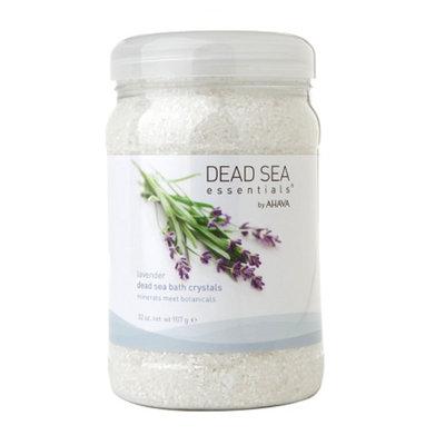 Dead Sea Essentials by AHAVA Dead Sea Bath Crystals, Lavender, 32 oz