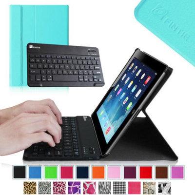 Fintie Wireless Bluetooth Keyboard Case for Apple iPad 4th Generation with Retina Display, iPad 3 & iPad 2, Blue