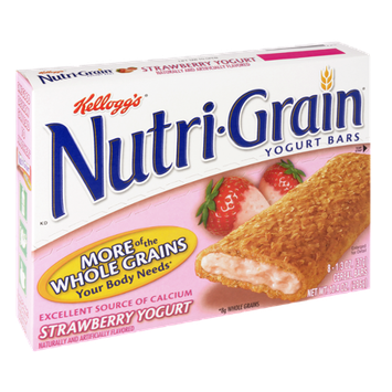 Kellogg's Nutri-Grain Strawberry Yogurt Cereal Bars