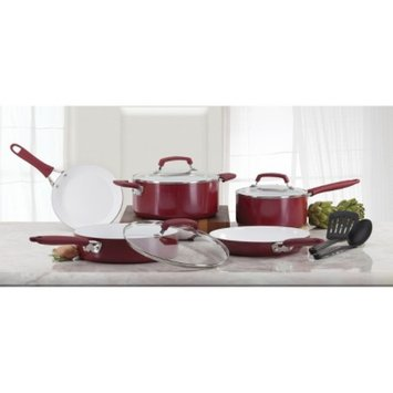 WearEver Pure Living Ceramic 10pc Set - Red