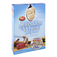 Post Shredded Wheat Lightly Frosted Cereal