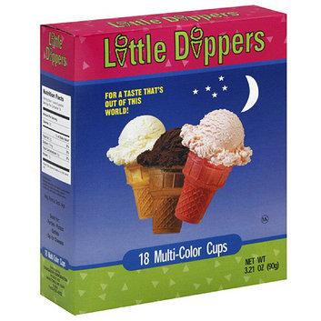 Marco Polo Little Dippers Multi-Color Ice Cream Cone Cups