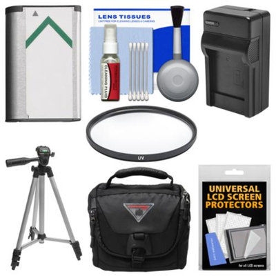 Vivitar Essentials Bundle for Sony Cyber-Shot DSC-H400 & DSC-HX400V Digital Camera with Case + NP-BX1 Battery & Charger + Tripod + UV Filter + Kit