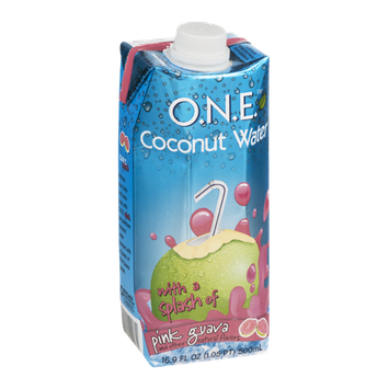 O.N.E. Coconut Water Beverage Pink Guava