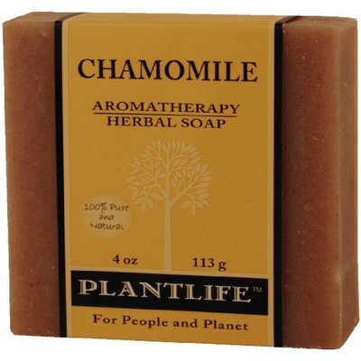 Plantlife Natural Body Care Plantlife Chamomile 100% Pure & Natural Aromatherapy Herbal Soap 4 oz 113g
