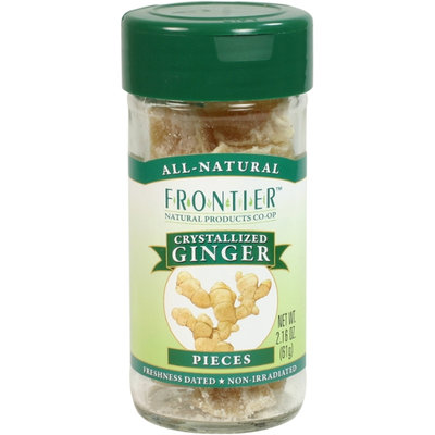 Frontier Ginger Root Crystallized Select Whole