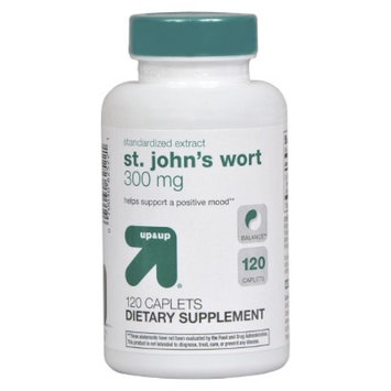 up & up up&up St. John's Wort 300 mg Caplets - 120 Count