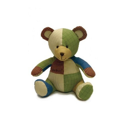 Crown Crafts Eddie Bauer Patchwork Bear Little Builder (Discontinued by Manufacturer)