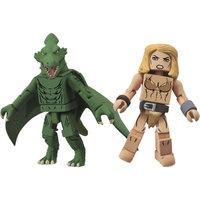 DC Comics Marvel Minimates Series 51 Shanna & Sauron Action Figures, 2-Pack