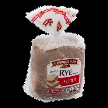 Pepperidge Farm Jewish Rye Bread Seeded
