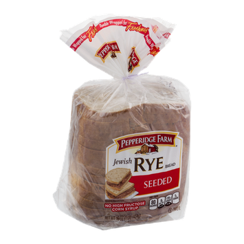 Pepperidge Farm Jewish Rye Bread Seeded