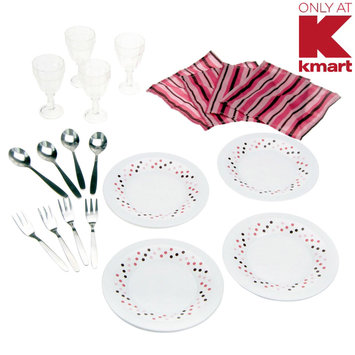 My First Kenmore 20 PC Dinner Set