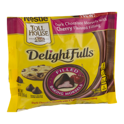 Nestlé® Toll House®  DelightFulls Dark Chocolate Morsels With Cherry