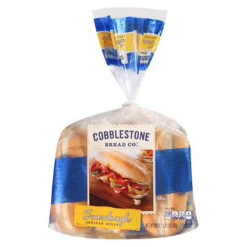 Flowers Foods Cobblestone Bread Co. Sourdough Artisan Rolls 18 oz 6 pk