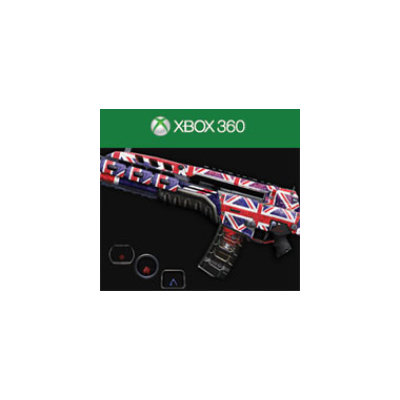 Activision Call of Duty Black Ops II UK Punk Personalization Pack
