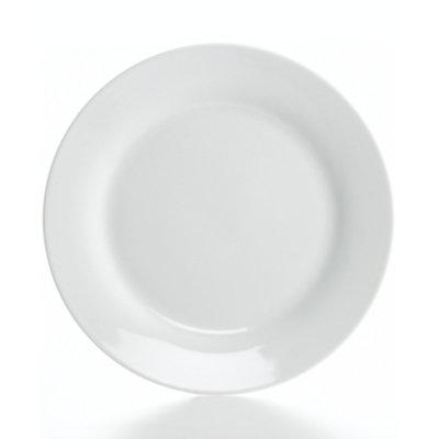 The Cellar Whiteware Rim Dinner Plate