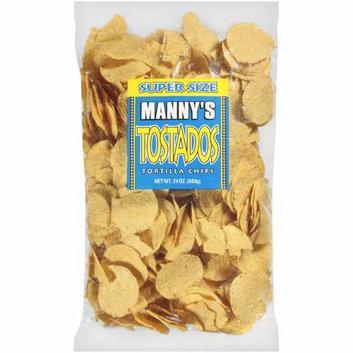 Manny's : Super Size Tostados Tortilla Chips