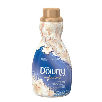Downy Ultra Infusions Liquid Fabric Softener 48 Loads, Cashmere Glow, 41 fl oz