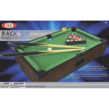 Ideal Rack'Em Tabletop Portable Pool Game