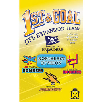 R and R Games 1st & Goal Expansion #2 - Northeast Division, 1 ea