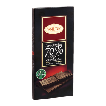 Valor Dark Chocolate 70% Cocoa