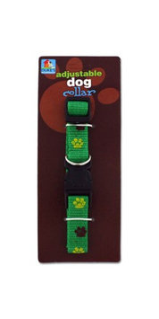 Duke Dog Collar With Paw Print Design Case Of 144