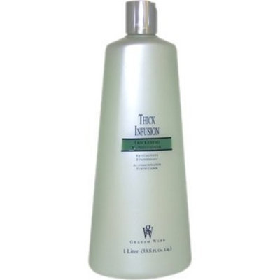 Thick Infusion Thickening Conditioner Unisex by Graham Webb, 33.8 Ounce