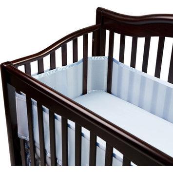 BreathableBaby Breathable Mesh Crib Liner - Bayshore Blue