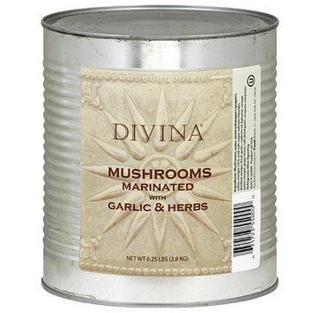 Divina Marinated Mushrooms with Garlic & Herbs