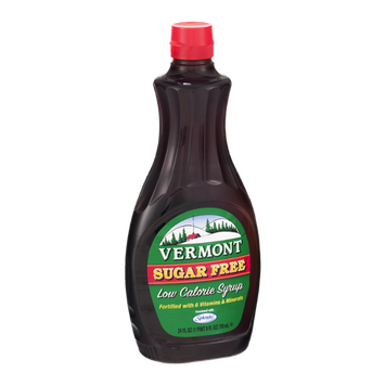 Vermont Low Calorie Syrup Sugar Free