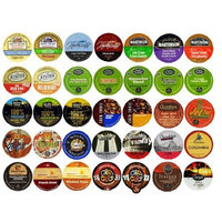 Crazy Cups Travel the World Sampler, Single-cup coffee for Keurig Single serve cup Brewers(Pack of 35)