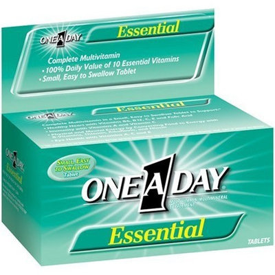 One A Day One-A-Day Essential Multivitamin/Mineral Tablets 130-Count Bottles (Pack of 2)