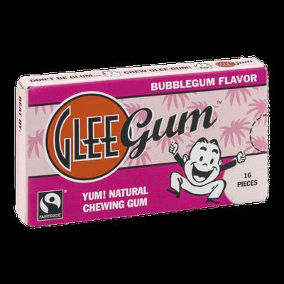 Glee Gum Pieces Bubblegum Flavor - 16 CT