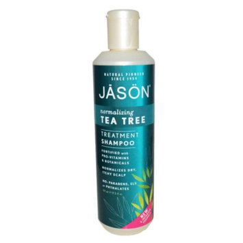 Jason Natural Cosmetics Tea Tree Scalp Normalizing Shampoo