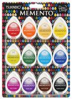 Tsukineko MD-012-100 Memento Dew Drop Dye Inkpads 12/Pkg