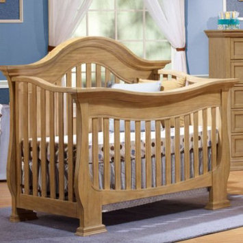 C And T International Inc Lusso Nursery Century 4-in-1 Crib with Mini Rail