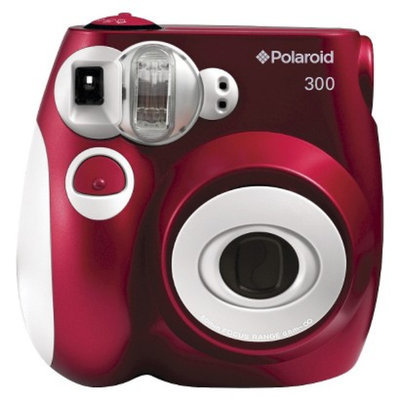 Polaroid 300 Instant Camera - Red (PIC-300R)