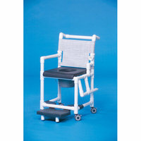 Innovative Products Unlimited Deluxe Shower Commode with Left Drop Arm