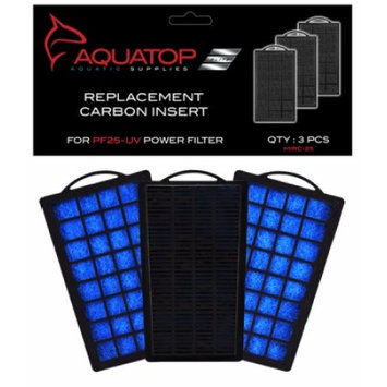 Aquatop Replacement Carbon Insert: Carbon Inserts for PF25-UV Power Fi