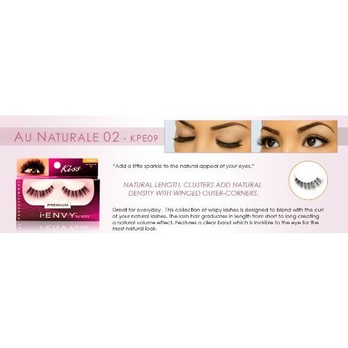 i.EVNY i.ENVY BY KISS EYE LASH (PACK OF 2) #KPE09