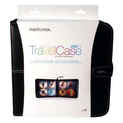 Memorex TravelCase Active CD & DVD Wallet 256-ct.