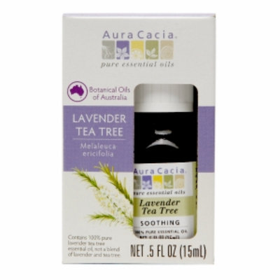 Aura Cacia Lavender Tea Tree, .5 fl oz