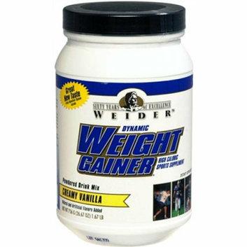 Weider Global Nutrition Dynamic Weight Gainer Vanilla 26.67 oz