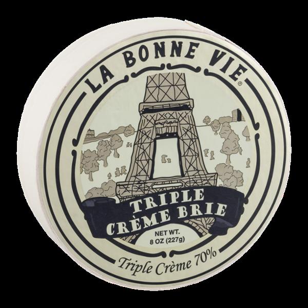 La Bonne Vie Brie Cheese Triple Creme 70%
