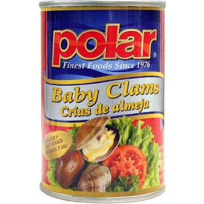 Polar   12 Pack Case of 10 oz. Can of Baby Clams