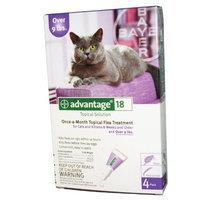 Bayer Advantage II Flea Control Treatment for Cats