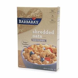 Barbara's Bakery Shredded Oats Cereal